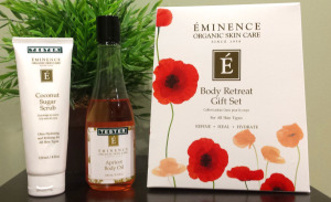 Gift Set from Eminence Organics, great to give to your partner