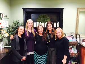 The Rustler Spa team is all smiles