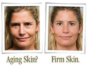 facials make aging skin into firm skin
