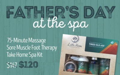 Father's Day at the Spa