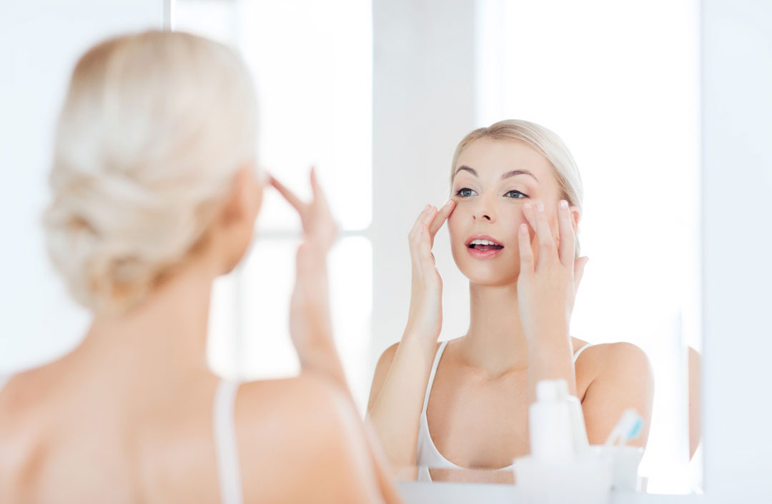 taking care of the skin around your eyes